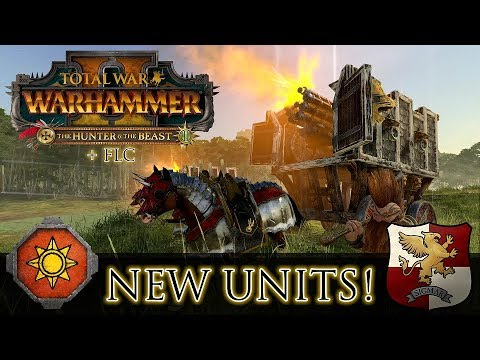 NEW EMPIRE & LIZARDMEN UNITS! - Close ups & Stats - H&B DLC + FLC | Total  War: Warhammer 2