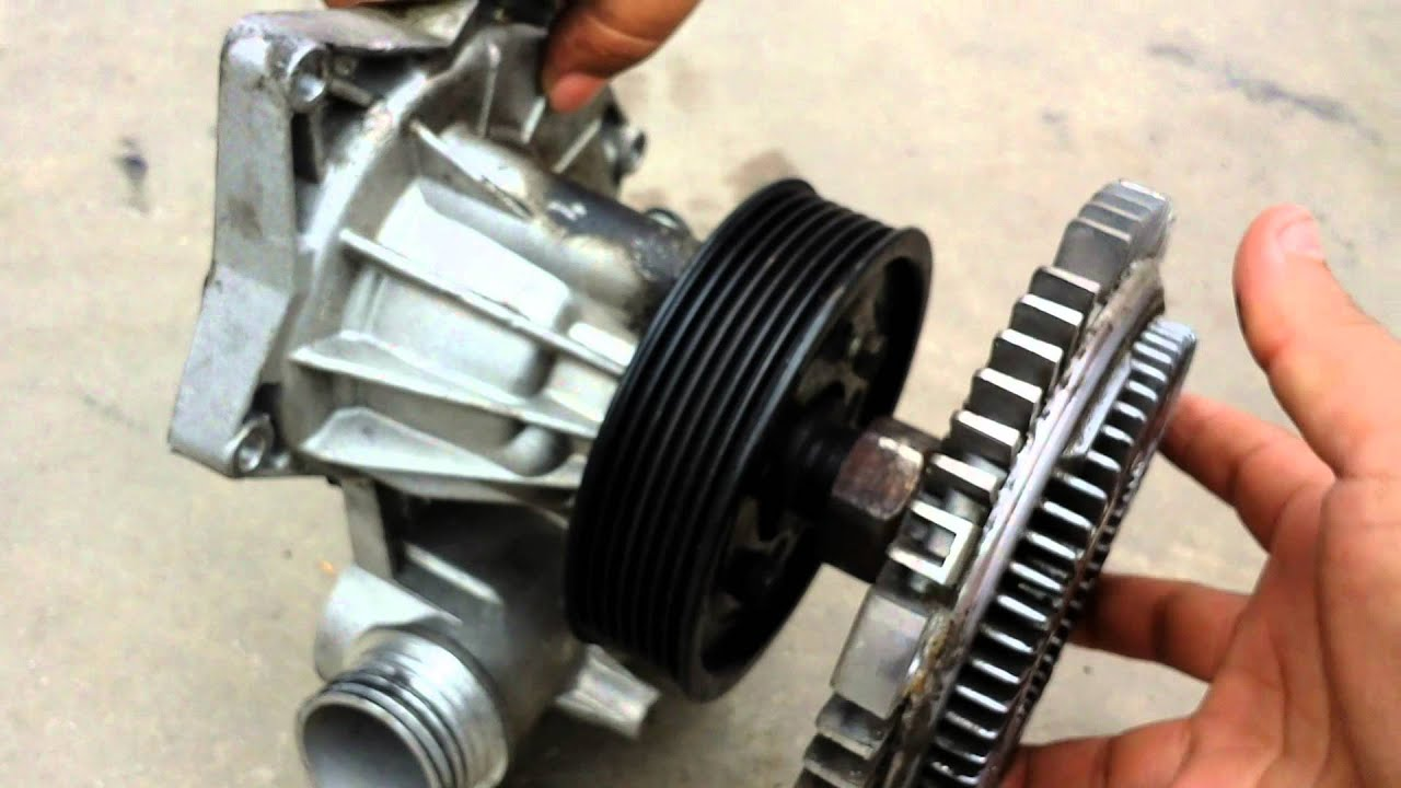 Bmw fan clutch removal 740 540i 525i 530i 330ci 325i e36 e38 e39 youtube