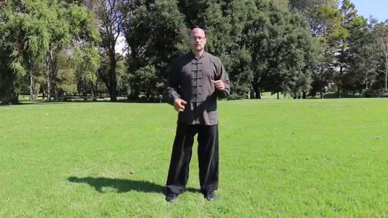Qigong ☯ walking excercise - and introduction