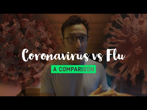 CORONAVIRUS vs. The Flu A Comparison