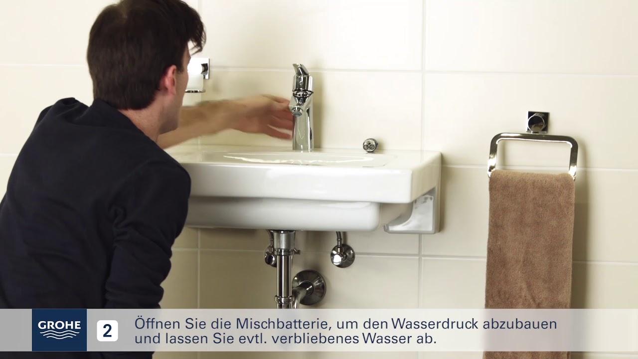 Grohe Installationsvideo Austausch Der Kartusche Youtube