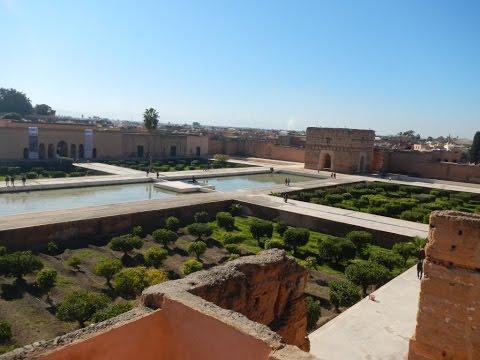 El Palacio Badi (Palais El Badii) en Marrakech