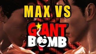 Jeff Gerstmann Vs Max (Tekken Tag 2 Online Impressions)