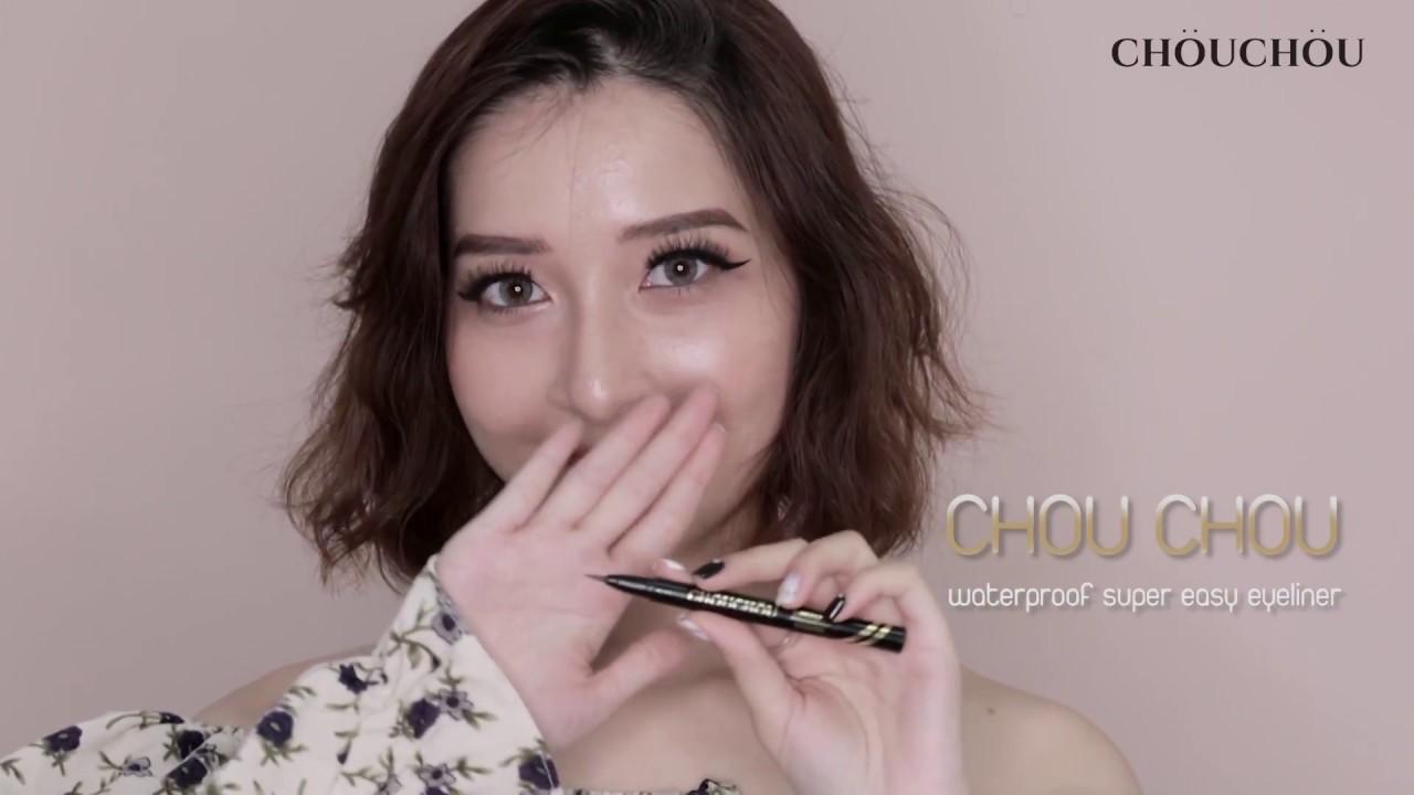 CHOU CHOU waterproof super easy eyeliner
