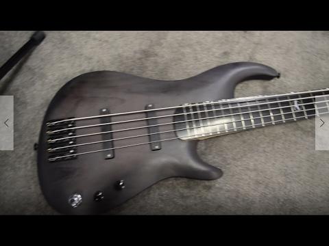 Kalium Basses QUAKE 40' Scale Bass - NAMM 2017   GEAR GODS