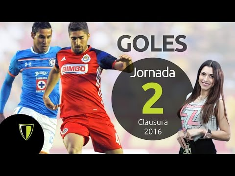 GOLES Jornada 2- Liga Mx CL 2016 from YouTube · Duration:  19 minutes 49 seconds