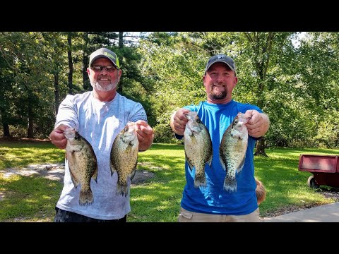 Crappie Fishing On Bull Shoals Lake
