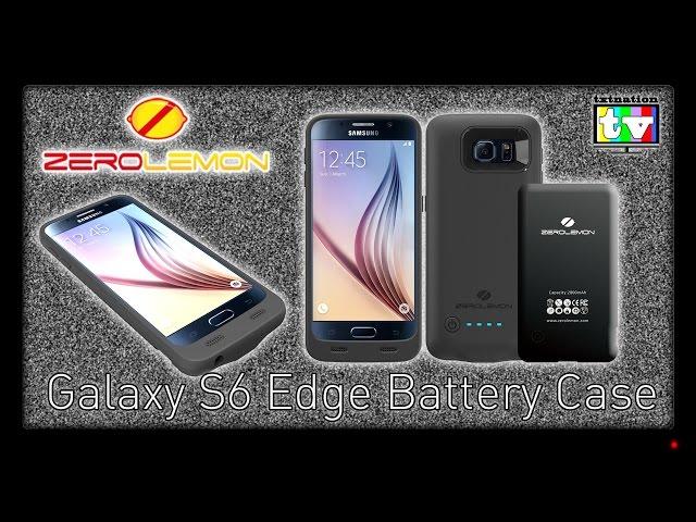 ZeroLemon Case for Samsung Galaxy S6 Edge