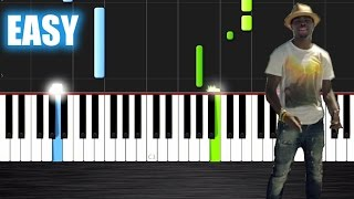 OMI - Cheerleader - EASY Piano Tutorial by PlutaX - Synthesia
