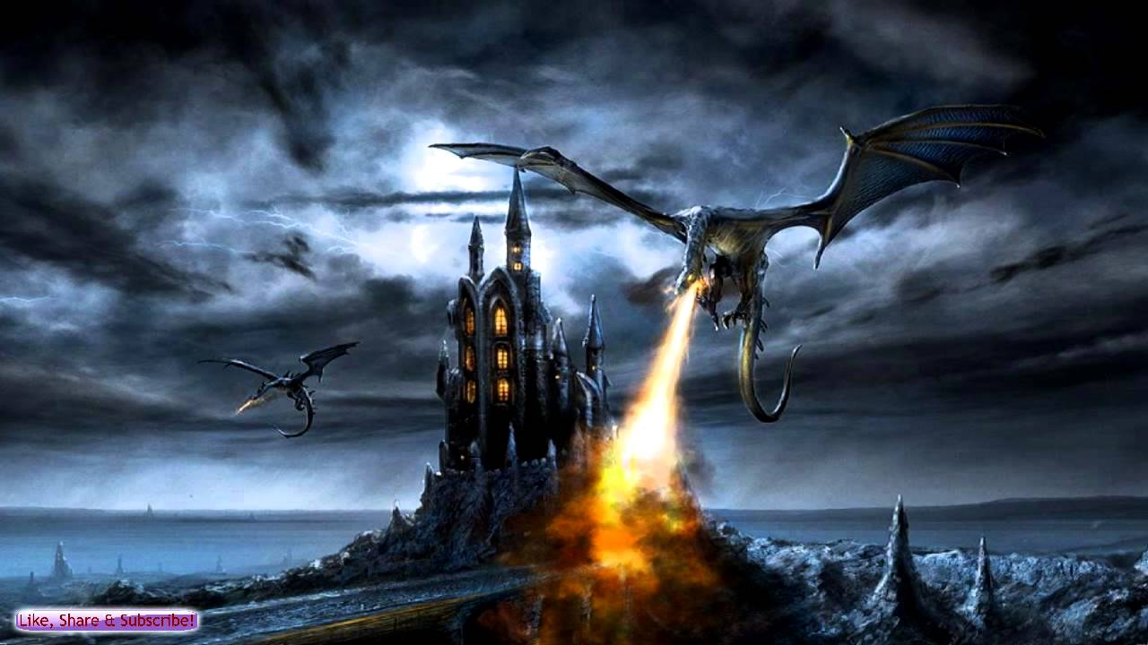 Epic Fantasy Music   Dragon Battle   Ambient Fantasy Music