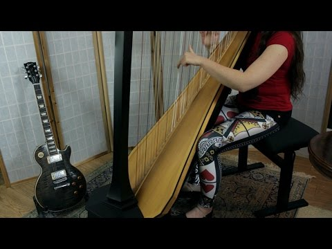 Clutch - Drink to the Dead  //  Amy Turk, Harp (In Memory of Chris Burgess)