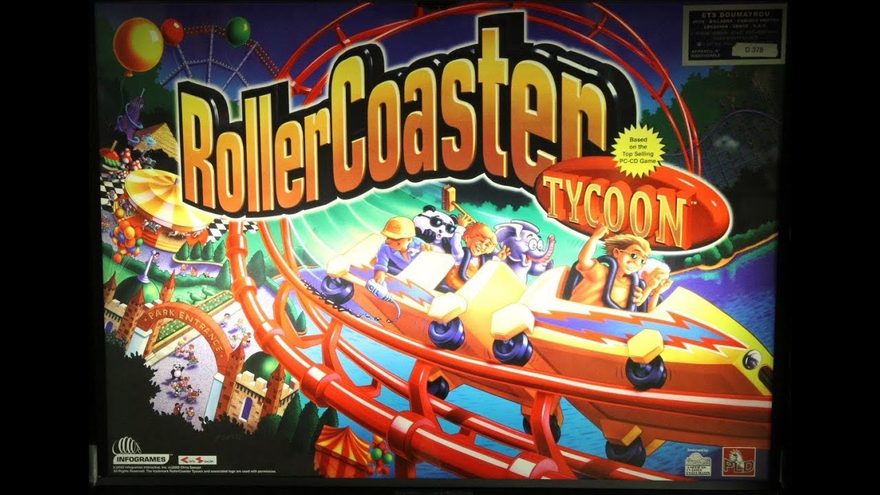 Download 2002 Stern ROLLERCOASTER TYCOON PINBALL