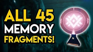 Destiny 2 - ALL 45 MEMORY FRAGMENT LOCATIONS! Hidden Collectible Guide, Rewards, MORE!