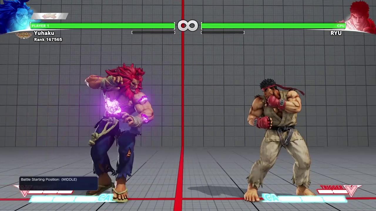 Street Fighter 5 Sick Akuma Combos Youtube
