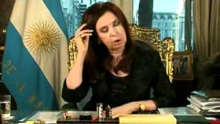 Discurso de Cristina después de la muerte de Néstor