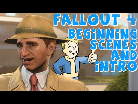 Fallout 4 | Story Intro and Beginning of Game - PC Gameplay