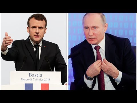 Macron and Putin have HEATED phone conversation on Syria ahead of CRUNCH meeting