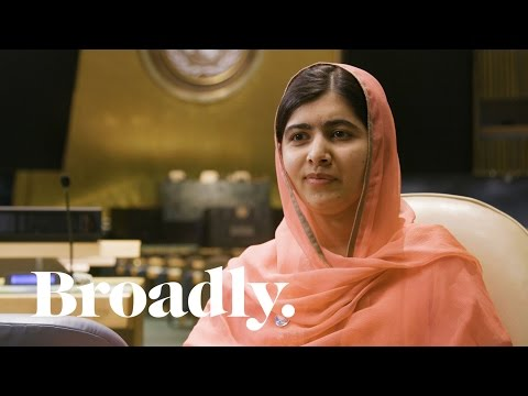 Malala Yousafzai on Refugees Advocacy and the Girl Power Trip