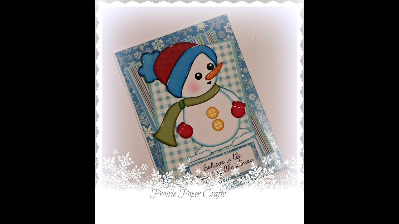 Believe in the Magic Christmas Card Process Video - YouTube