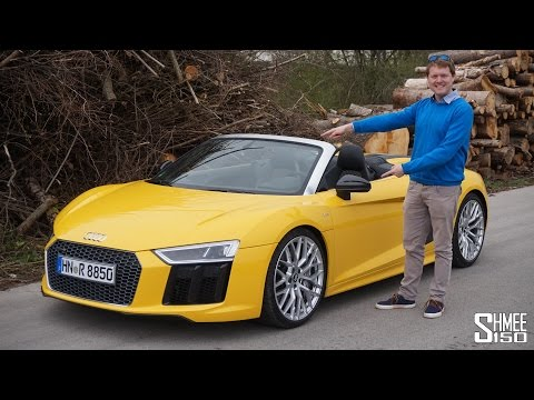 Is This a Daily Supercar? The New Audi R8 Spyder