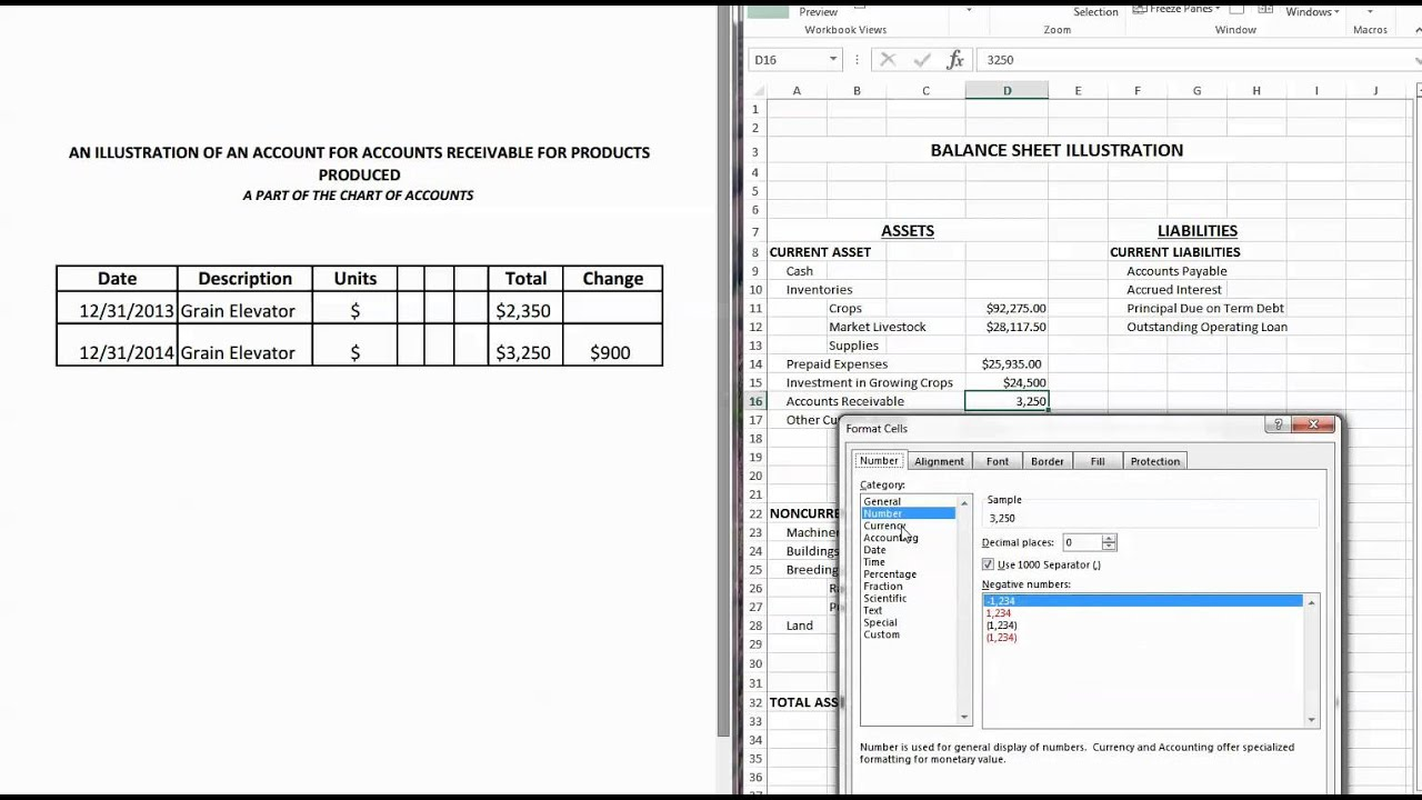 Accounts Receivable and Balance Sheet - YouTube