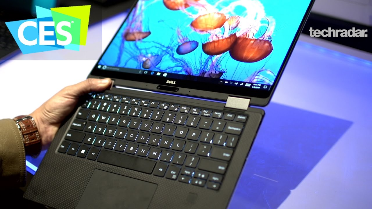 0394d716902 Dell XPS 13  We re impressed by Dell s 2-in-1 Laptop at CES 2017 ...