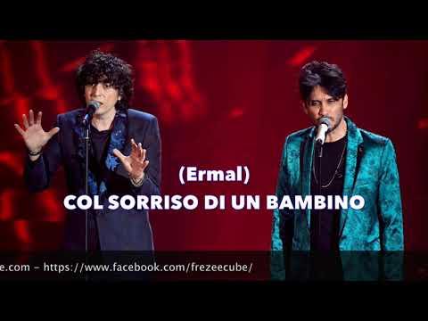 Ermal Meta e Fabrizio Moro - Non mi avete fatto niente - Karaoke con testo