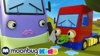 Boo Boo Song! | Gecko's Garage: Nursery Rhymes & Baby Songs | Kids Cartoons | Moonbug Kids TV