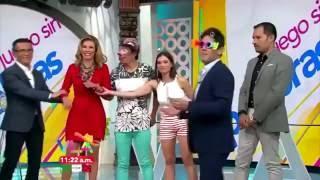 メキシコのテレビ生放送でおならをしてしまった女性