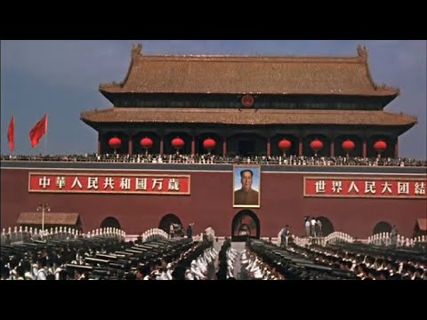 《庆祝建国十周年》China National Day Parade 1959