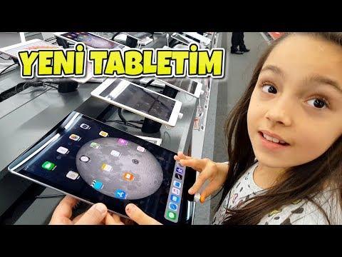 APPLE TABLET IPAD --- BİM' de SATILAN TABLET  ....  ELİF'İN TABLETİNE İLK NE KURDUK.