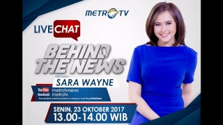 Video Live Chat Behind The News Bersama Sara Wayne download MP3, 3GP, MP4, WEBM, AVI, FLV November 2017