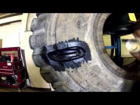Earthmover Tyre Repair