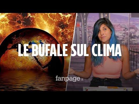 Il riscaldamento globale non esiste: le bufale sui cambiamenti climatici