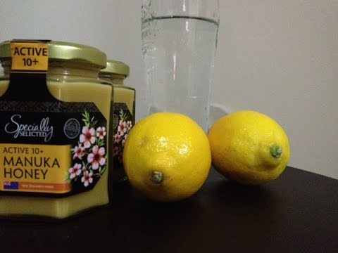 Manuka honey and lemon water- simple recipe for healthy skin, boost of immunity and digestion