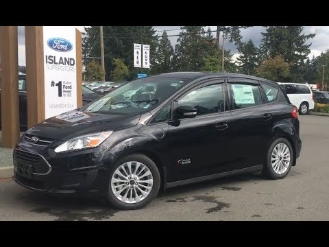 2017 Ford C-Max Energi SE W/ Nav Review|Island Ford