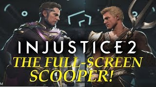 The Full-screen SCOOPER - Aquaman Online - INJUSTICE 2