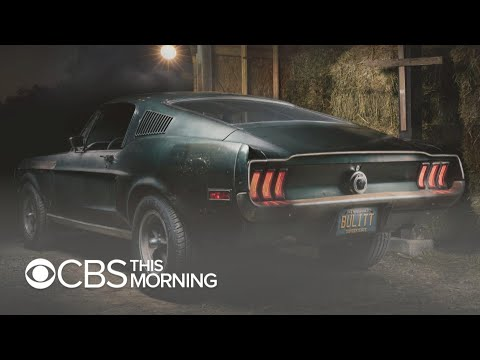 "Mustang from 1968 movie ""Bullitt"" up for auction"