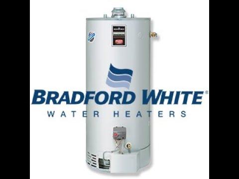 Bradford White Water Heater Thermostat Settings Youtube