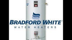 Bradford White Water Heater Thermostat settings