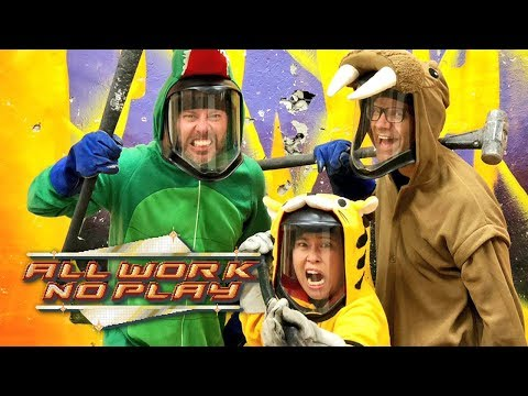 All Work No Play: Rage Room