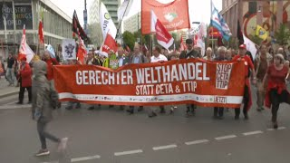 Anti-TTIP Protesters Take to Streets in Germany
