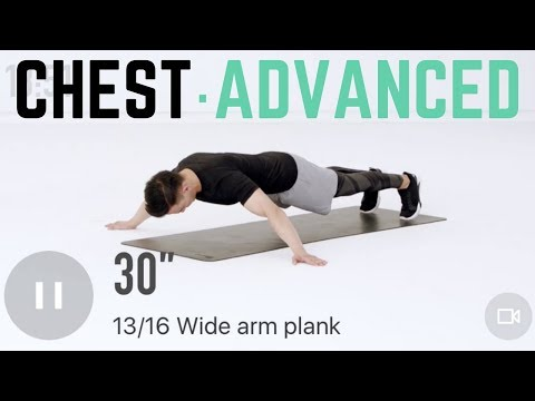 20Min Advanced Chest Workout   Intense Home Workout to Maximize Your Gains