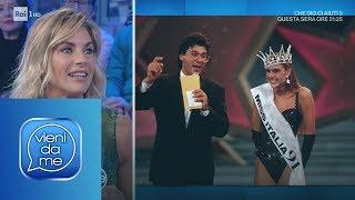 Martina Colombari e il ricordo di Miss Italia - Vieni da me 17/01/2019
