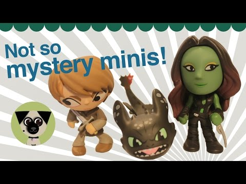 Not So Mystery Minis From Funko! Guardians, Game Of Thrones, How To Train Your Dragon