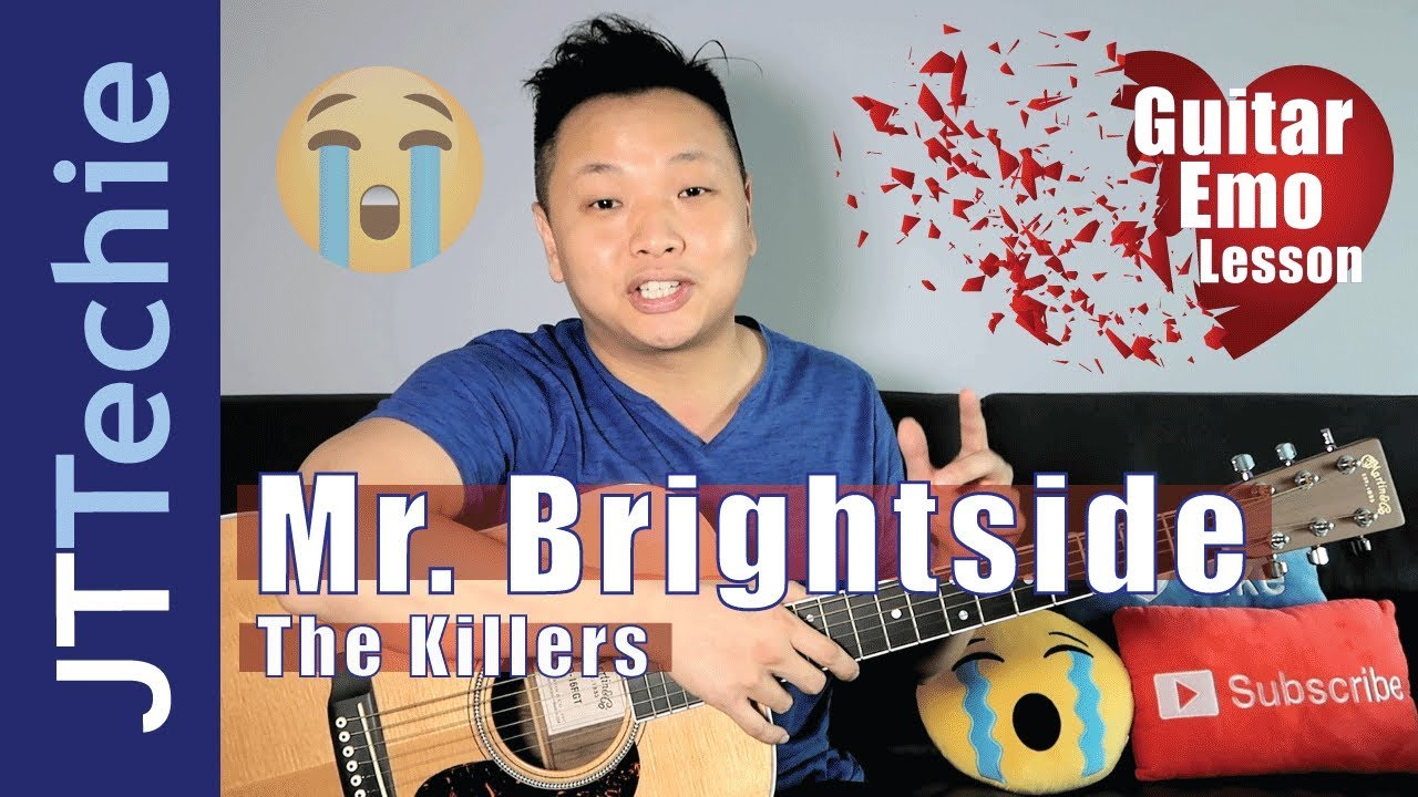 How To Play Mr Brightside By The Killers On Acoustic Guitar For
