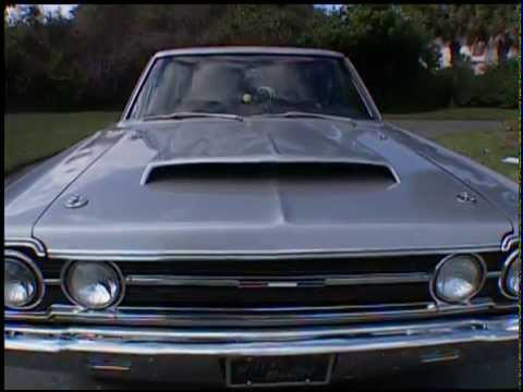 67 GTX Silver Bullet Dream Car Garage 2004 TV series Vintage