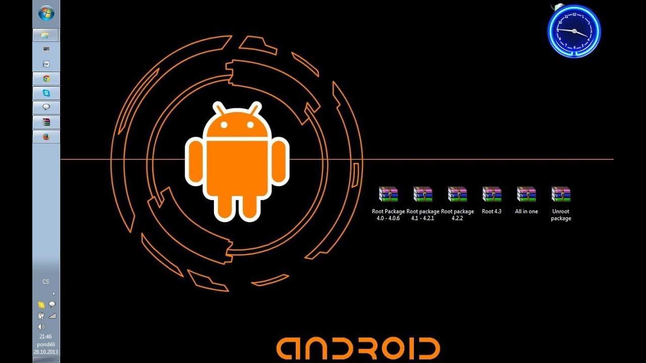 How to root android smartphones and tablets (and unroot them.