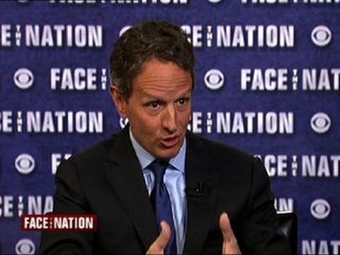 "Former Treasury Secretary Timothy Geithner: I knew my job ""would be terrible"""