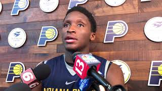 Victor Oladipo on facing the Cavs in the first round